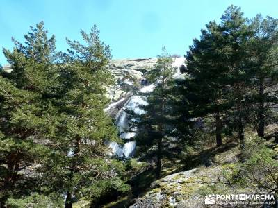 Cascadas de La Granja - Chorro Grande y Chorro Chico; campamentos de verano; trekking senderismo;clu